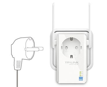TP-Link Wireless N 300Mbps Range Extender Socket