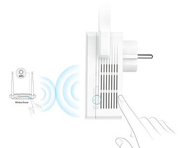 TP-Link Wireless N 300Mbps Range Extender Plug n Play
