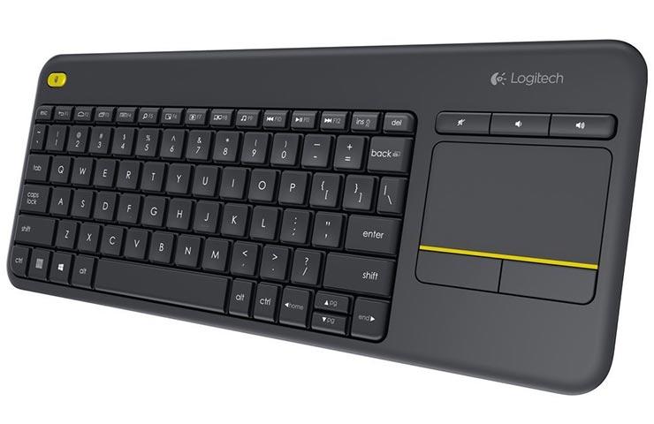 Logitech Ασύρματο Πληκτρολόγιο K400 Plus