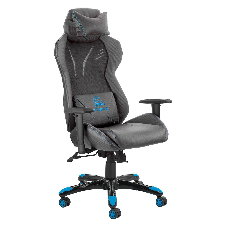 @Work Καρέκλα Γραφείου Gaming Nemesis Μπλε