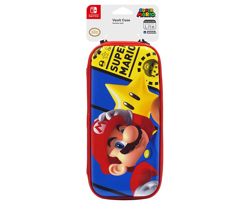 Switch Lite Premium Vault Case Mario