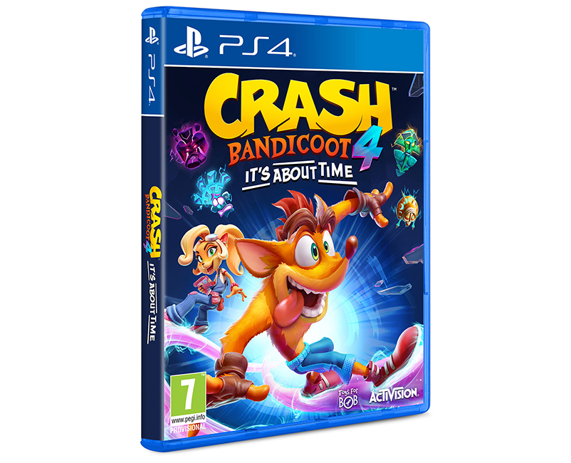 Crash Bandicoot 4 : It's About Time PS4