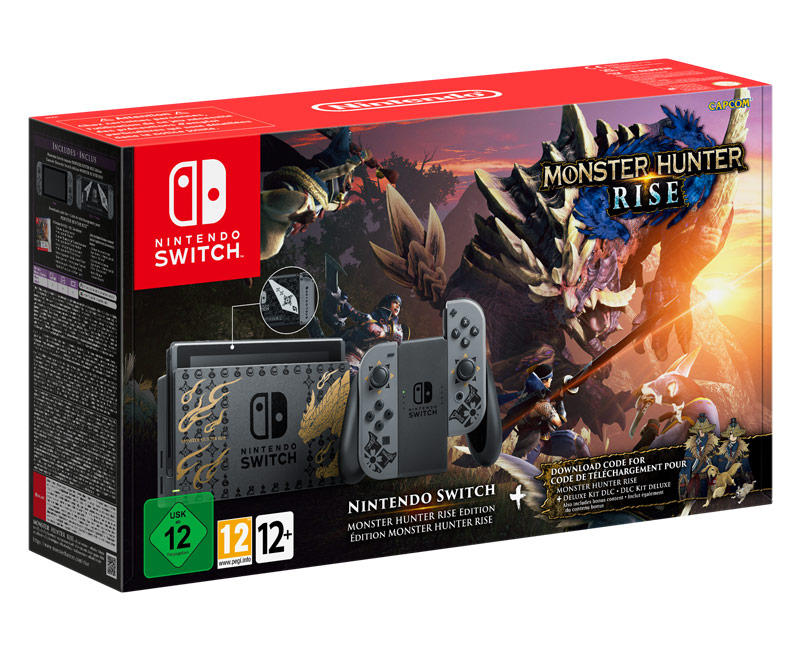 Monster Hunter Rise Nintendo Switch Bundle