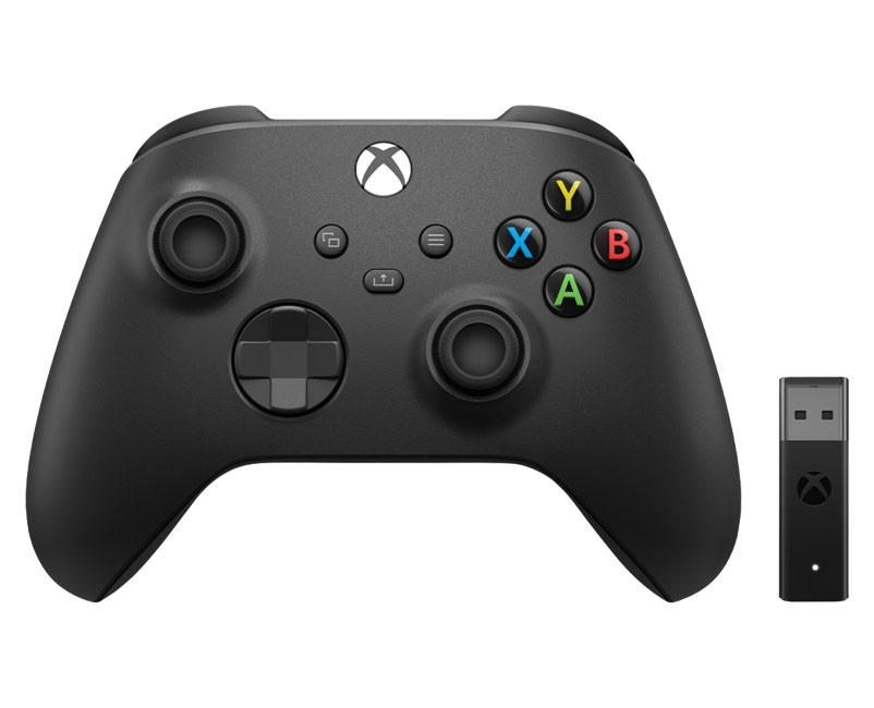 Xbox Wireless Controller + Adapter W10