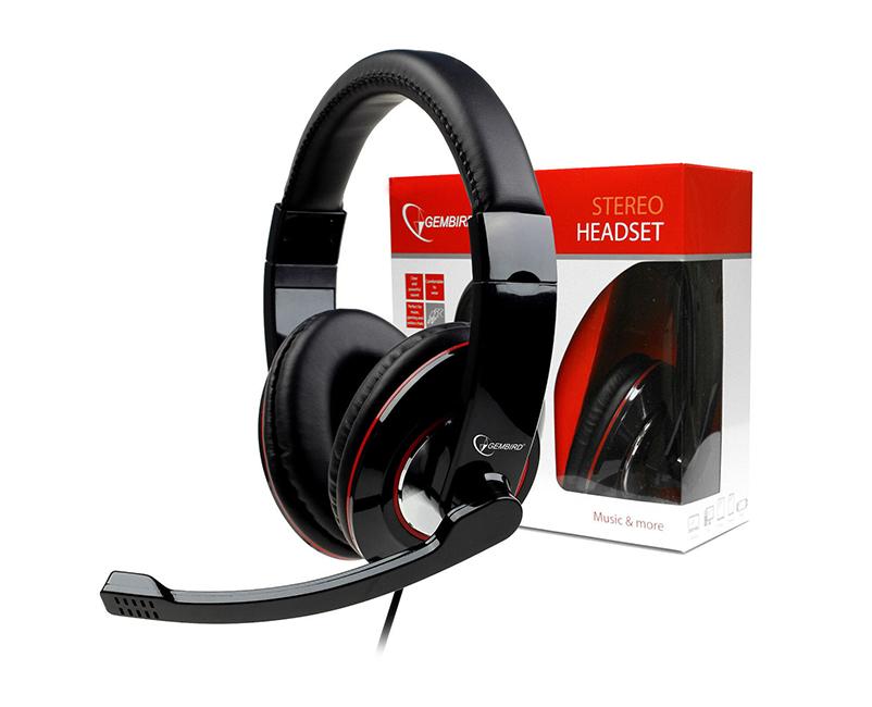 Headset Gembird Glossy Stereo
