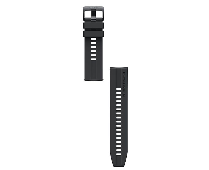 Black Fluoroelastomer Strap GT2 42mm
