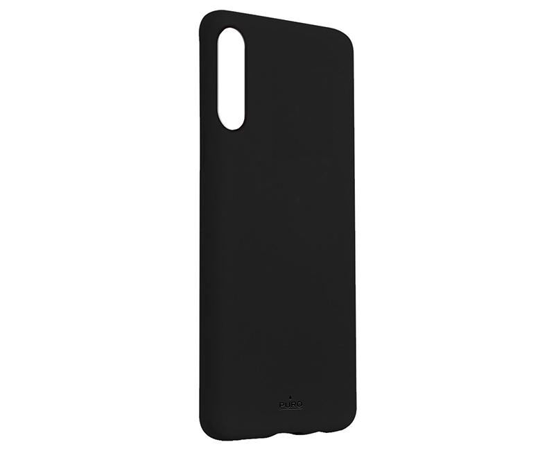 Θήκη Puro Back Cover Galaxy A50, Μαύρη