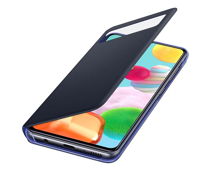 Θήκη Samsung View Cover Galaxy A41, Μαύρo