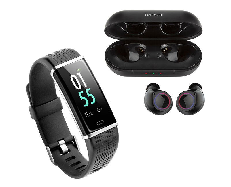 Capsule II + Smartband Xfit Pro IV at glance