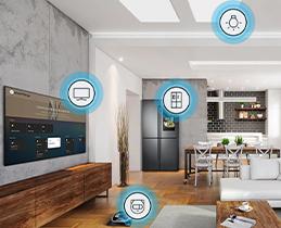 Η τηλεόραση το κέντρο του smart home σου