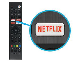 Turbo-X Netflix Button
